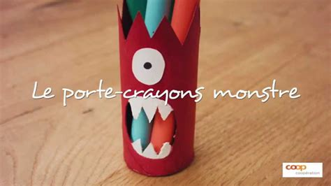 Bricolage   le monstre crayons   YouTube