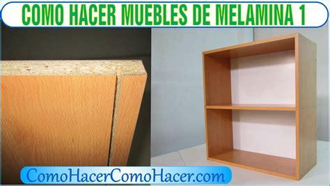 Bricolaje como hacer muebles laminados de melamina 1   YouTube