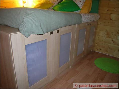 Bricolaje de una cama armario