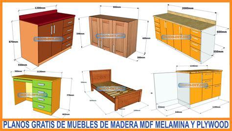Bricolaje Diy Planos gratis Como hacer muebles de melamina ...