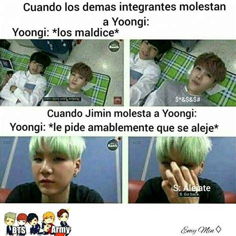 BTS MEMES EN ESPAÑOL   Yoonmin  mas real que tu mismo ...