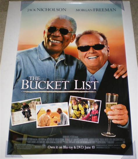 BUCKET LIST DVD MOVIE POSTER 1 Sided ORIGINAL 27x40 | eBay