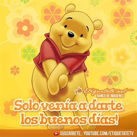 Buenos Dias  Pooh Image