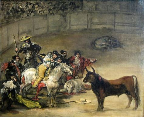 Bullfight  Goya    Wikipedia