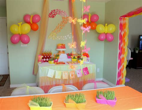 Butterfly Themed Birthday Party: Decorations   events to ...