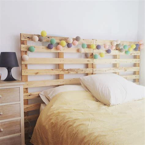 Cabecero de cama con palets reciclados – ibid wood