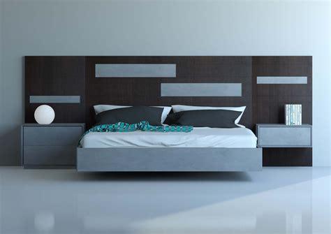Cabeceros de dormitorio en distintos tonos de madera ...