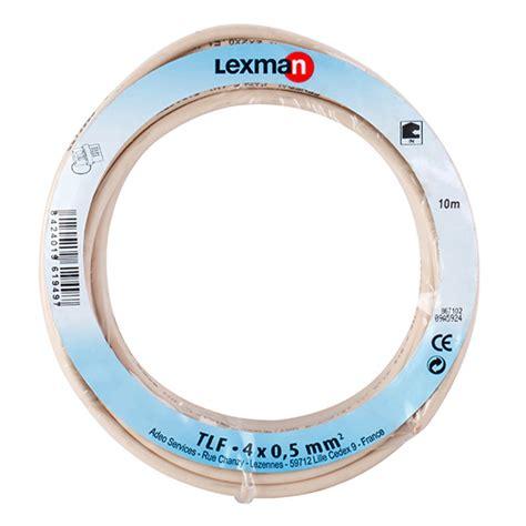 Cable teléfono Lexman CABLE TELÉFONO 4 HILOS Ref. 12379724 ...