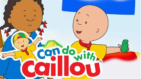 Caillou Can Clean Up | Cartoon for Kids | Doovi