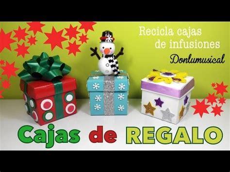 Cajas de regalo originales Manualidades fáciles de Navidad ...