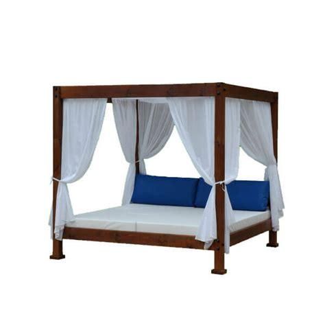 Cama Balinesa de 200x200 Simple   Artesanal | Estrucmader