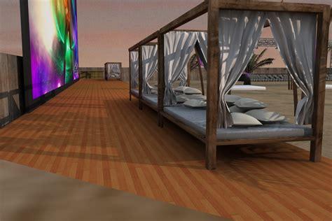 Camas balinesas o camas chill out   Mobiliario Exterior