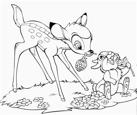 CanalRed > Plantillas para colorear de Disney > Bambi ...