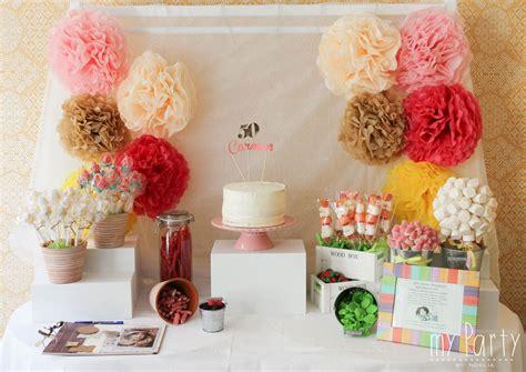Candy Bar 50 años | 50 cumple | Pinterest | 50 años ...