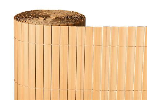 Cañizo artificial bambú. Medidas 2 x 5 metros. Naterial ...