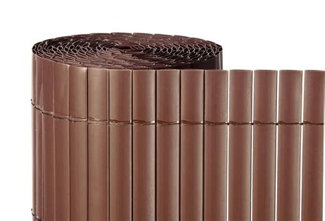 Cañizo artificial chocolate. Medidas 2 x 5metros. Naterial ...