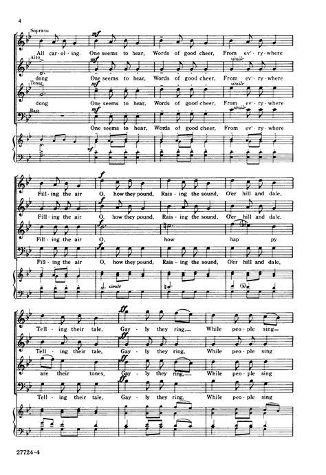 Carol of the Bells  SATB   by Mikhail Leonto | J.W. Pepper ...