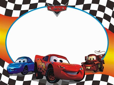 Cars: Free Printable Photo Frames. | Oh My Fiesta! in english