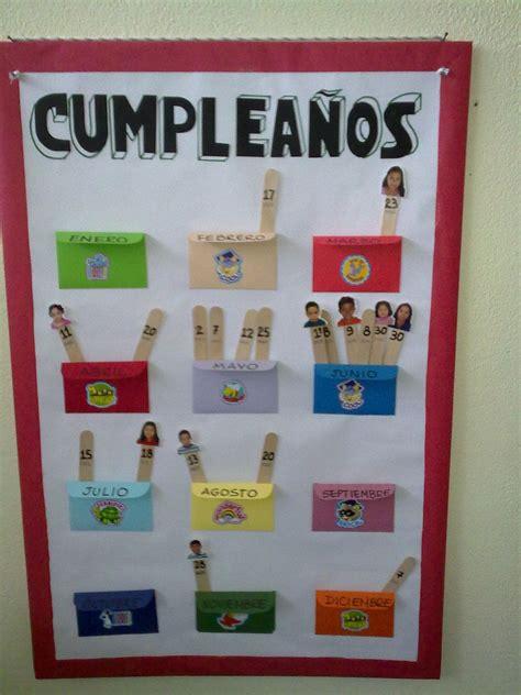 Cartelera para los cumpleaños con las fotos de los niños ...