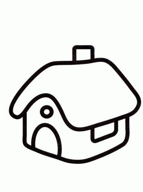 casa 02   Dibujos y juegos, para pintar y colorear