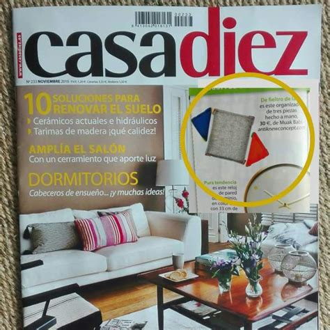Casa Diez Revista Decoracion. Finest Pin It With Casa Diez ...