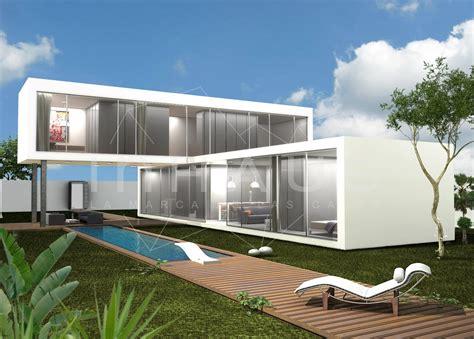 Casa modular Barcelona de diseño moderno inHAUS