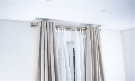 casas, cocinas, mueble: Barras dobles para cortinas