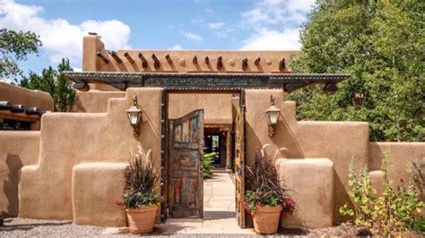 Casas revocadas con barro Casas estilo santa fe   YouTube