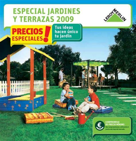 Catálogo 2009 de Jardines y Terrazas Leroy Merlín