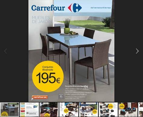 Catálogo Carrefour especial muebles de jardín 2013
