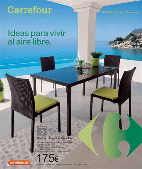 Catálogo Carrefour muebles de jardín 2012 by ...
