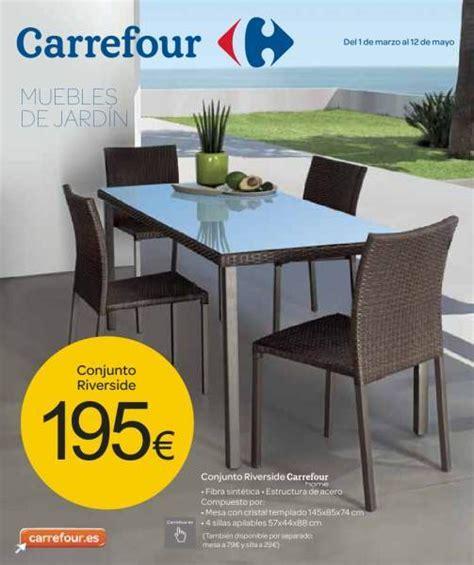 Catálogo Carrefour muebles de jardín   EspacioHogar.com