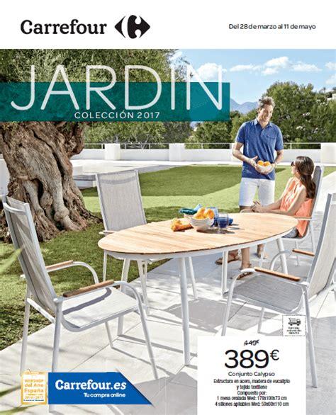 Catálogo Carrefour muebles de jardín mayo 2017 ...