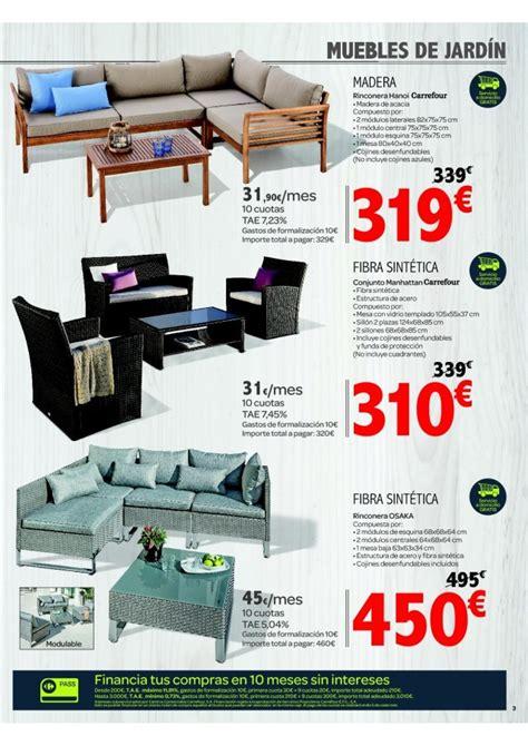 Catálogo Carrefour muebles de jardín verano 2016 ...