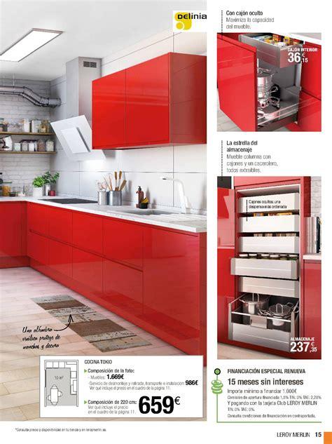 Catálogo cocinas Leroy Merlin 2018 | Galeriamuebles