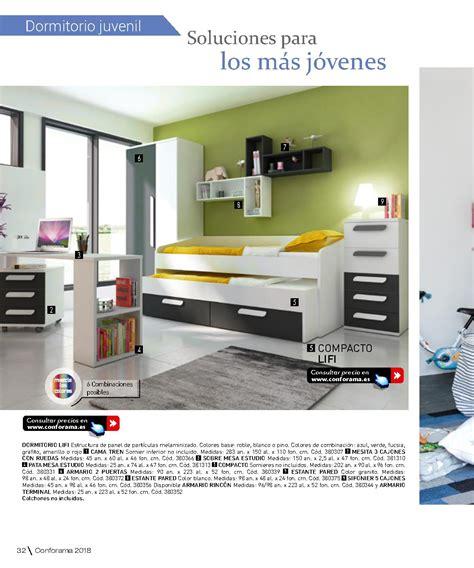Catálogo Conforama 2018: dormitorios juveniles | iMuebles