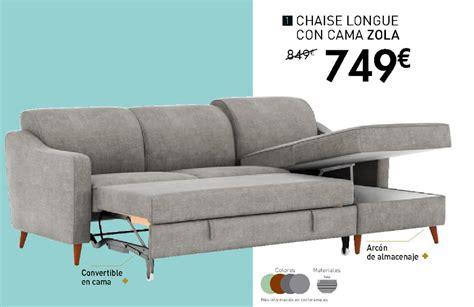 Catálogo Conforama 2018: sofás cama | iMuebles