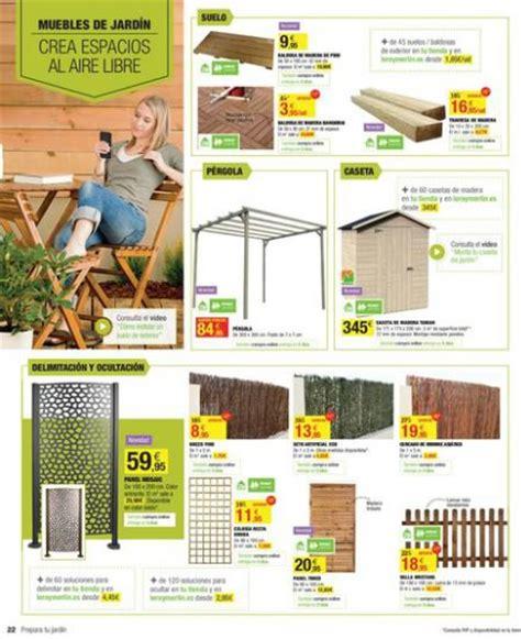 Catálogo de Leroy Merlín terraza y jardín 2014 – Decoración
