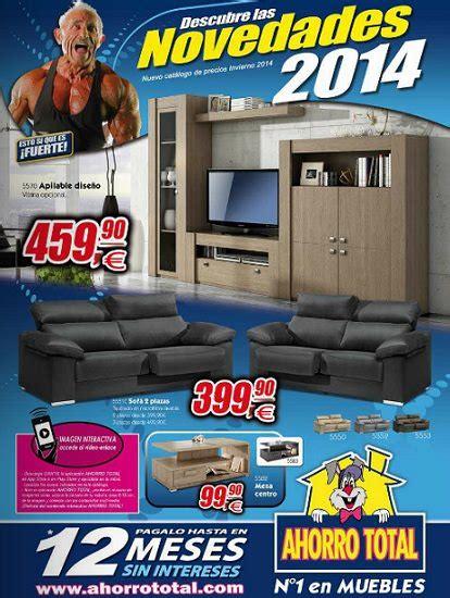 Catálogo de muebles Ahorro Total 2014 – Decoración