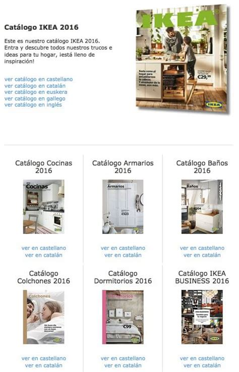 Catalogo Folleto Ikea Online Ofertas