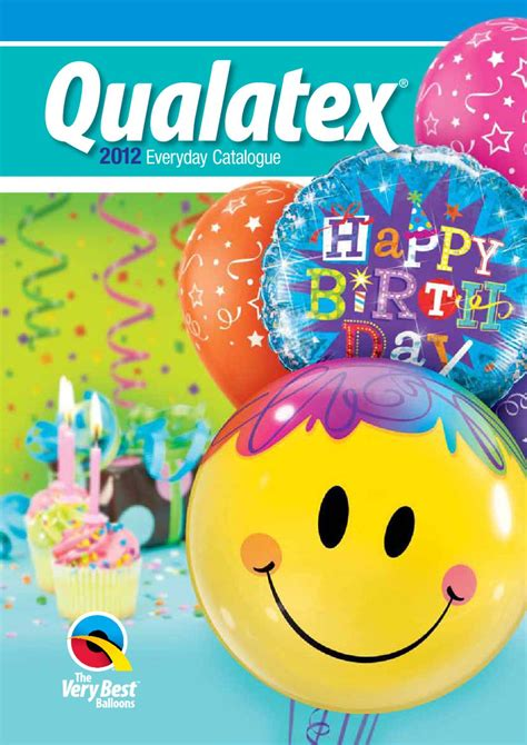 Catalogo General Globos Qualatex 2012 by Ilusiones con ...