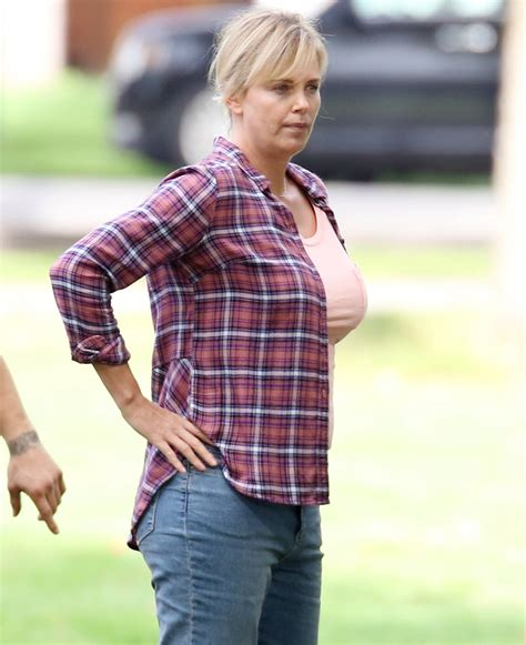 Cele|bitchy | Did Charlize Theron gain a lot of weight for ...