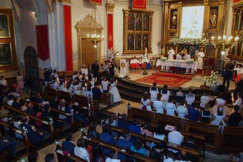 Celebración de la Primera Comunión   Parroquia SANTA MARÍA