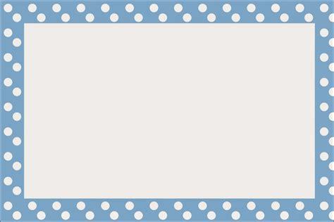 Celeste con Lunares Blancos: Invitaciones de Primera ...