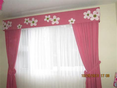 Cenefa de cortina con diseños de flores   Imagui