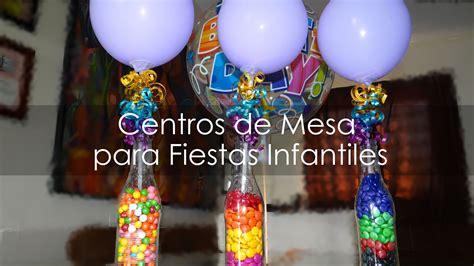 Centro de Mesa para Fiestas Infantiles   Botellas ...