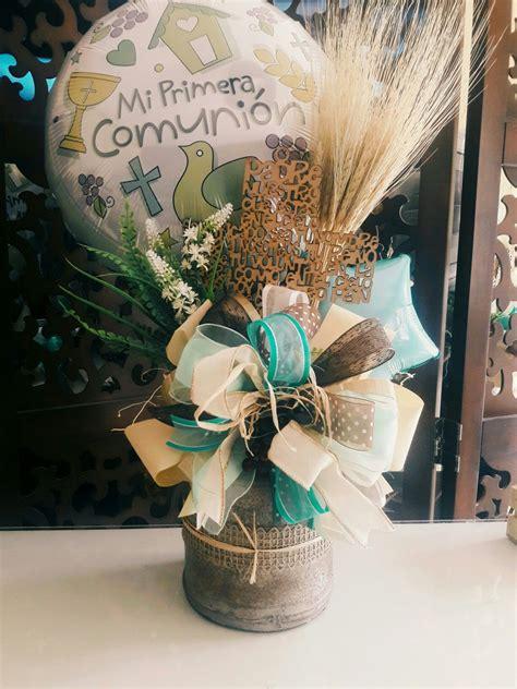 Centro De mesa primera comunion. | Festivos y eventos ...