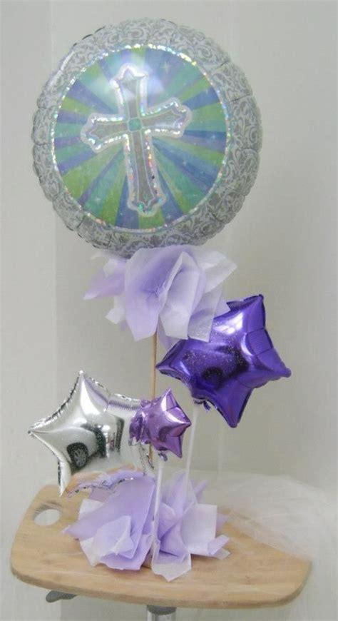 centro de mesa primera comunión globos   para decoración ...