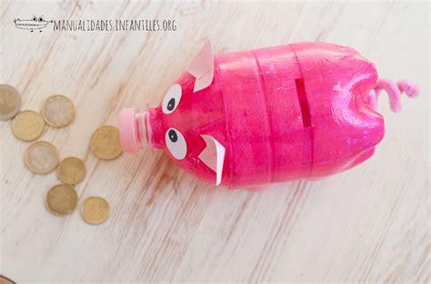 Cerditos con botellas recicladas   Manualidades Infantiles