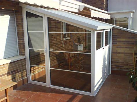 Cerramiento de aluminio tipo caseta de exterior terraza en ...